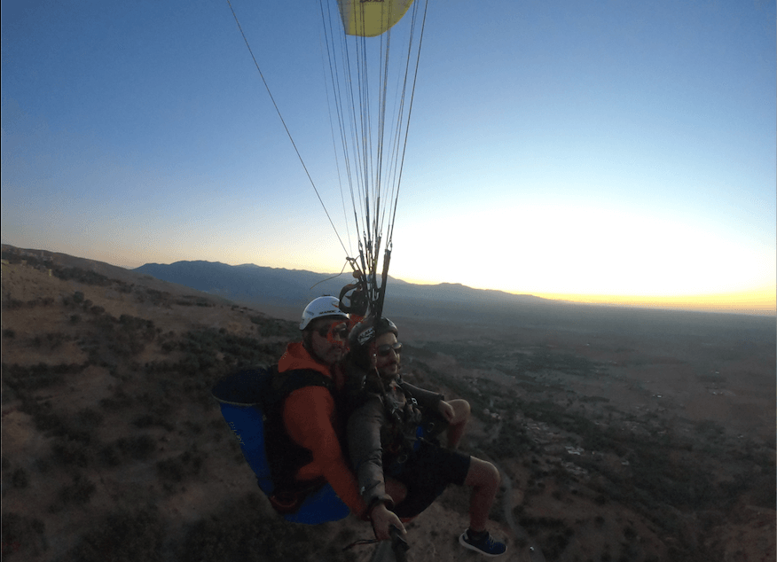 what you need to know, before doing your baptism or paragliding jump in Morocco ...!